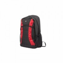 Natec Backpack Black/Red 17.3nch