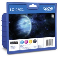 Brother LC-1280XLVALBP Blister Pack Rainbow